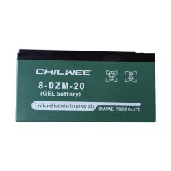 Аккумулятор Chilwee 8-DZM-20