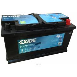 Аккумулятор Exide EK950 Start-Stop AGM 95 А*ч о.п.