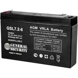 Аккумулятор General Security GS 7,2-6
