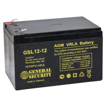 Купить Аккумулятор General Security GSL 12-12