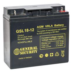 Аккумулятор General Security GSL 18-12