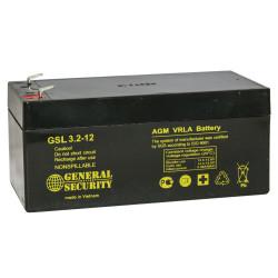 Аккумулятор General Security GSL 3,2-12