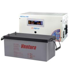 Комплект ИБП Энергия Pro-1700 12V + Ventura GPL 12-200
