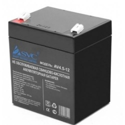 Аккумулятор SVC 12V/4,5Ah