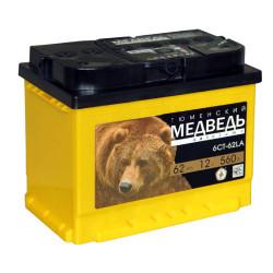 Аккумулятор Тюменский Медведь 62 А*ч о.п.