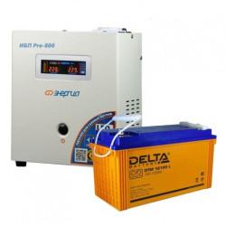 Комплект ИБП Энергия Pro 800 + Delta DTM 12-120 L