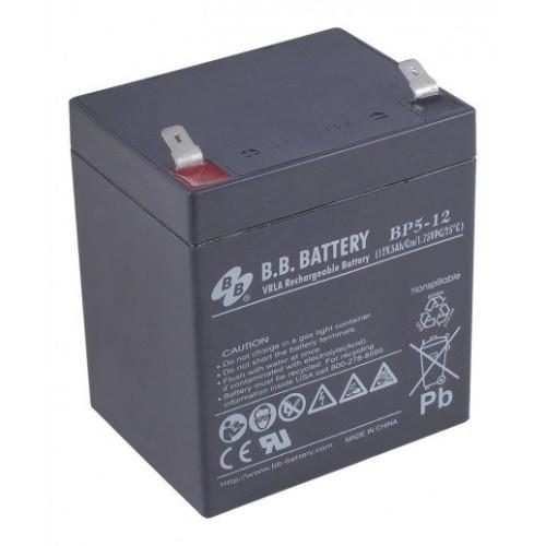 Купить Аккумулятор B.B. Battery BP 5-12