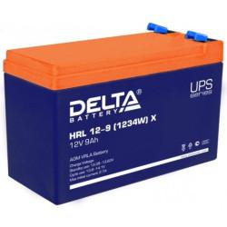 Аккумулятор Delta HRL 12-9 X (1234W)