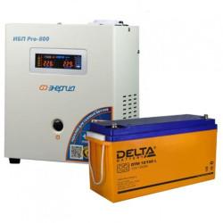 Комплект ИБП Энергия Pro 800 + Delta DTM 12-150 L