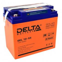 Аккумулятор Delta GEL 12-55